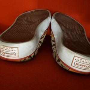 Coach Shoes - Coach Slip On Sporty Shoes 7.5